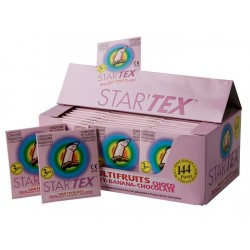 Star'Tex Fruits Préservatifs 48x3